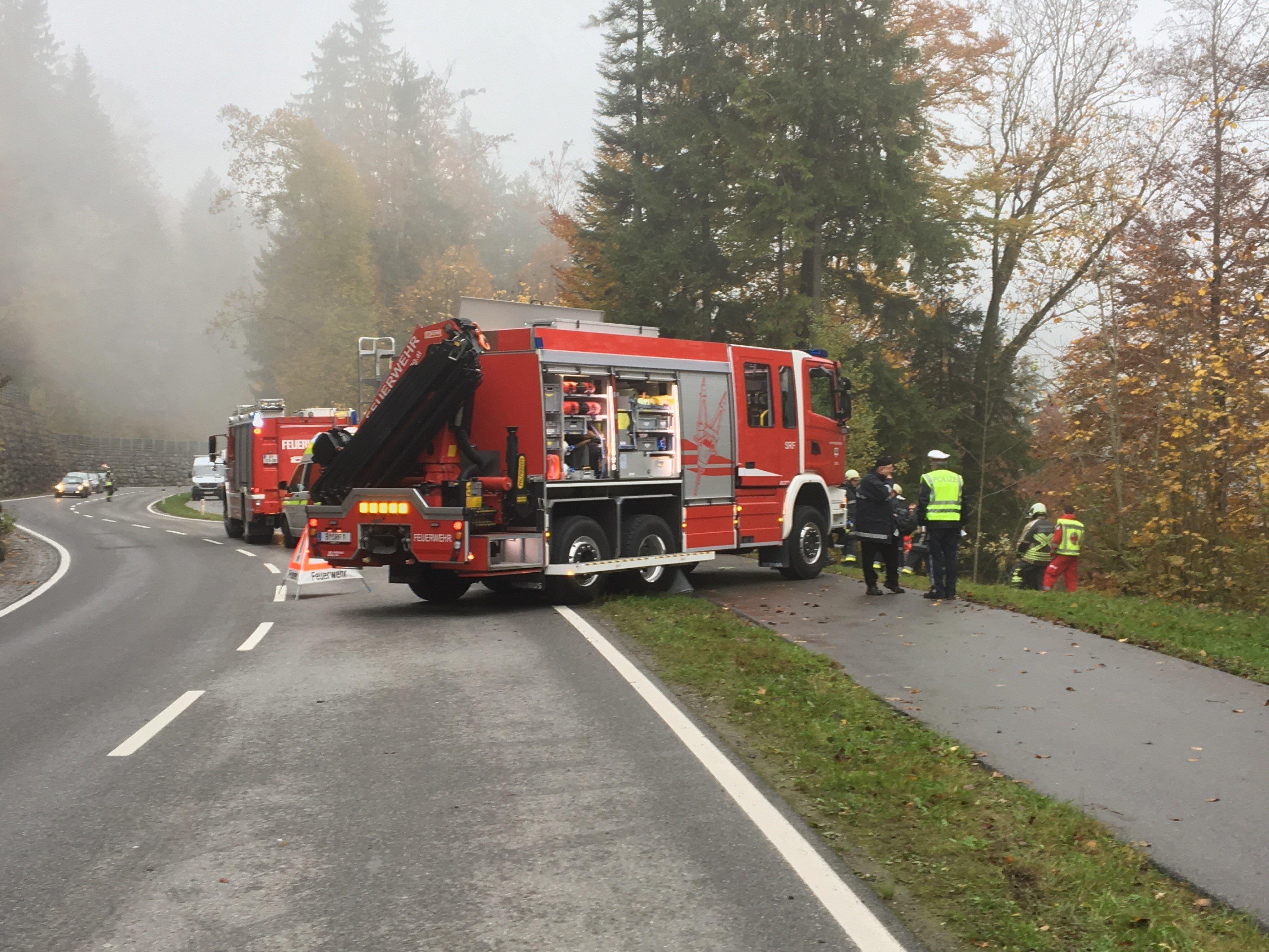 Auf der L200 ereignete sich am Donnerstagmorgen ein schwerer Unfall.
