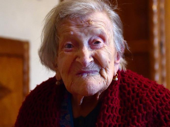 Sie hat noch ein paar Jahre vor sich: Die älteste Frau der Welt, die Italienerin Emma Morano, ist 116.