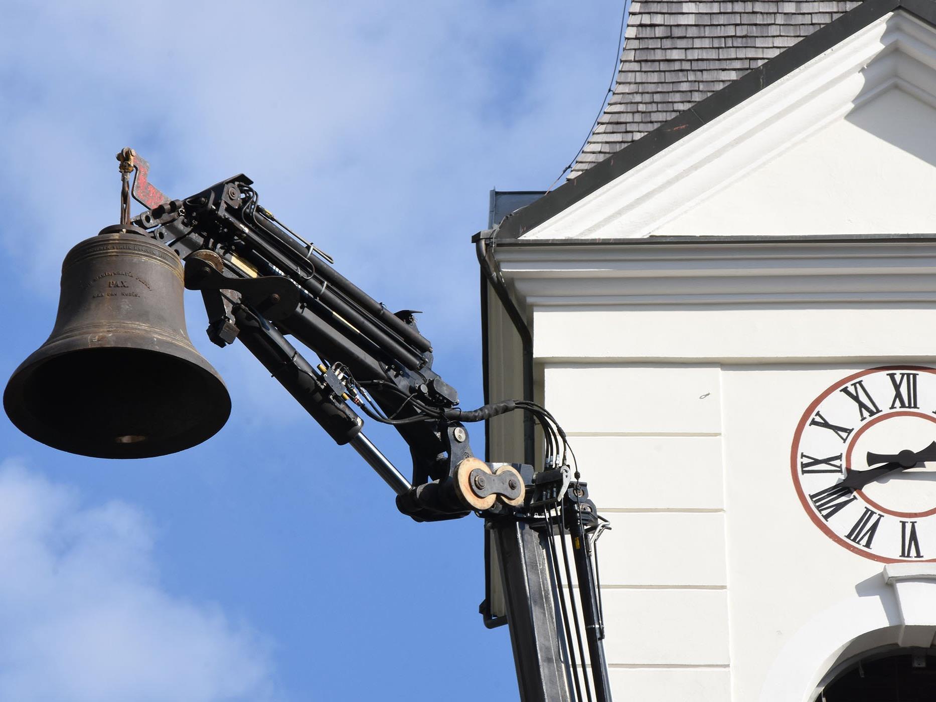Glockenabnahme in Nüziders