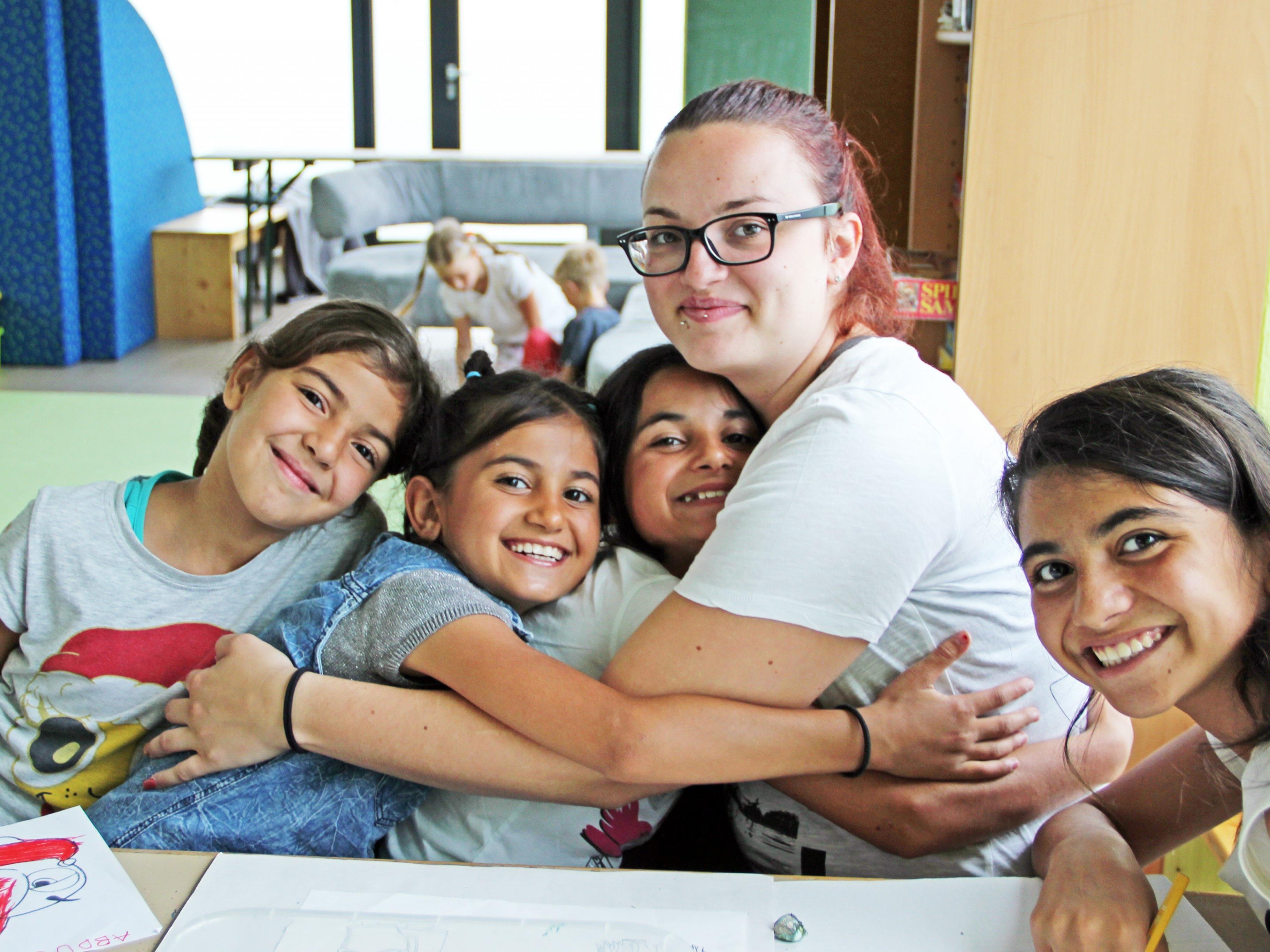 Bereits die Sommerferienbetreuung begeisterte die teilnehmenden Kinder.