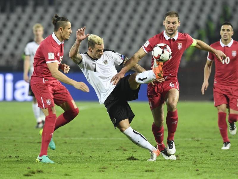 Umkämpftes Spiel in Belgrad