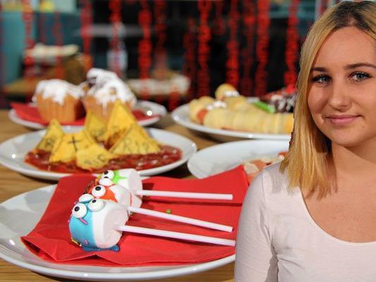 Chiara Corona zeigt einfache Snacks für Halloween