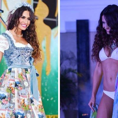 Die Miss Earth Austria 2016 Kimberly Budinsky