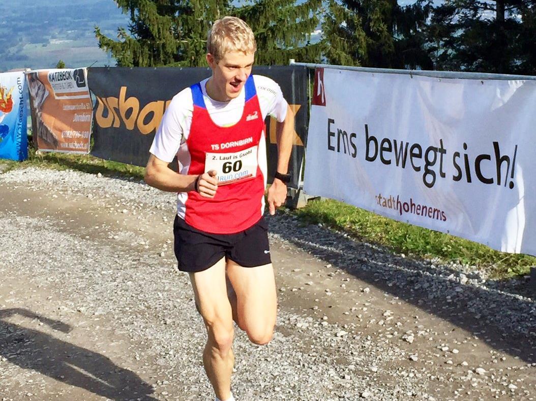 Jakob Mayer schaffte einen neuen Streckenrekord.