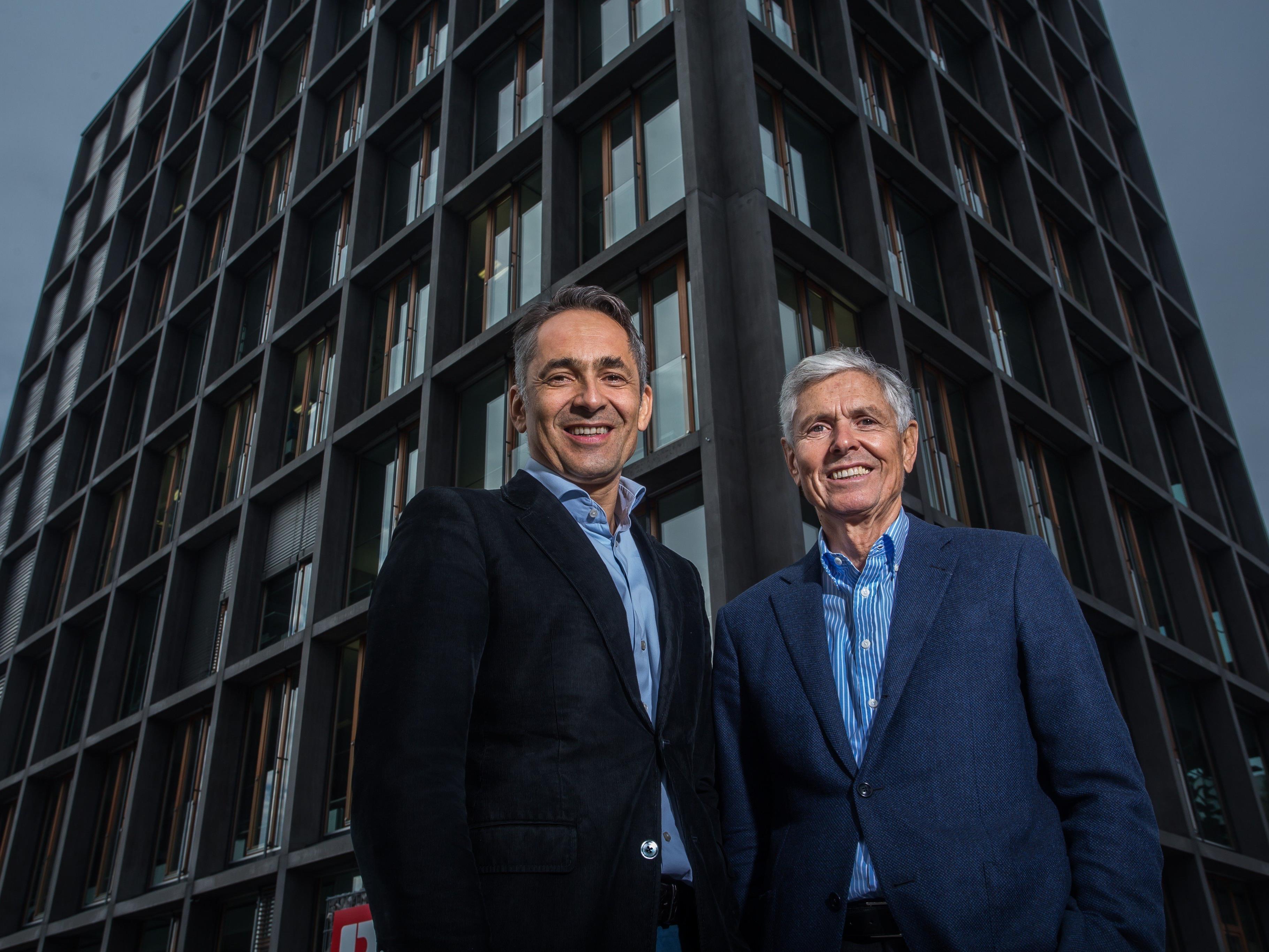 Walter-Heinz und Hubert Rhomberg blicken auf eine 130-jährige Erfolgsgeschichte zurück.