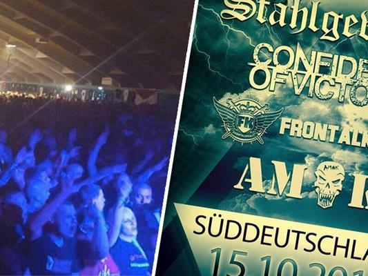 Schweizer Polizei nimmt Stellung zum Neonazi-Konzert mit 5.000 Zuschauern.
