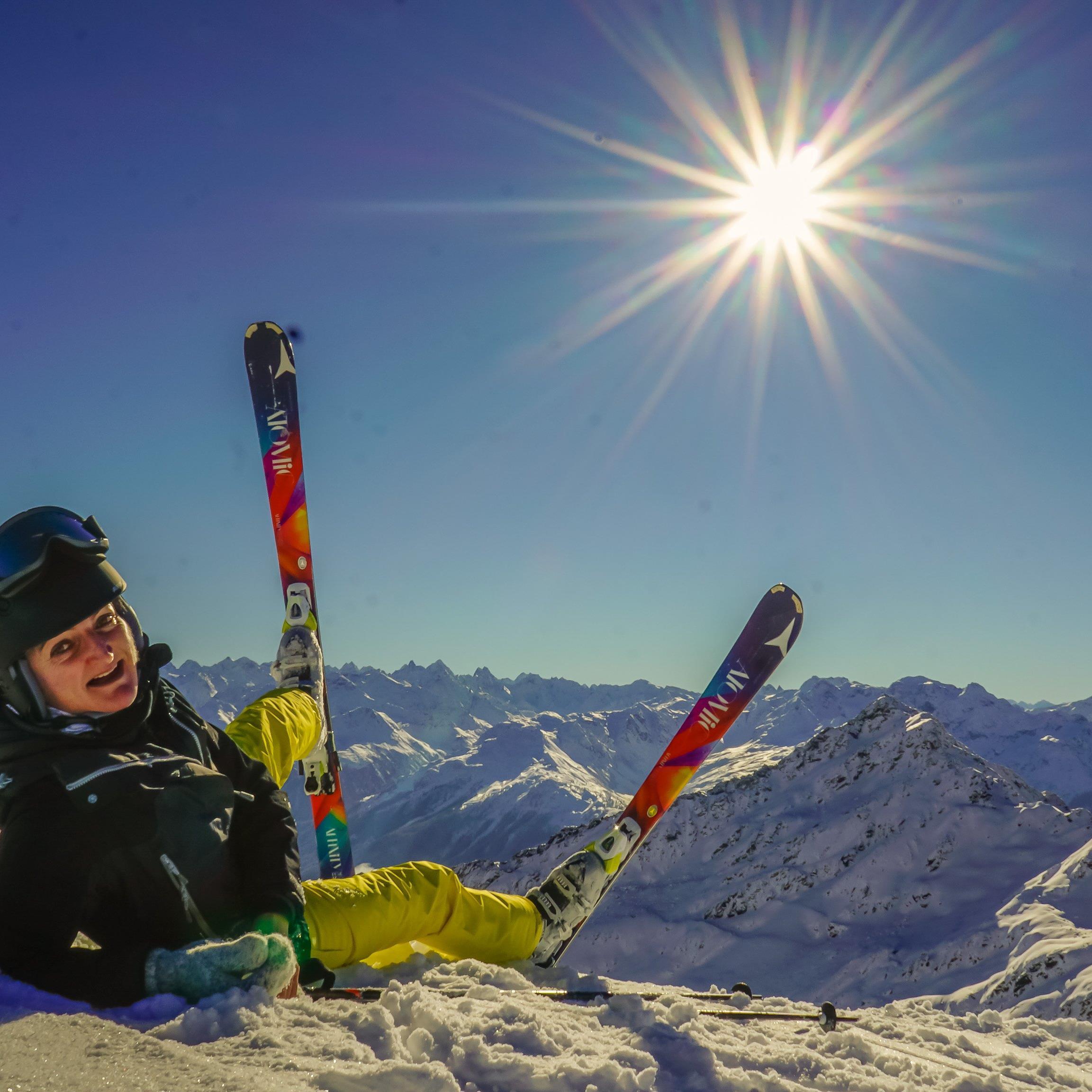 Das Skifahren erfreut sich immer noch großer Beliebtheit.