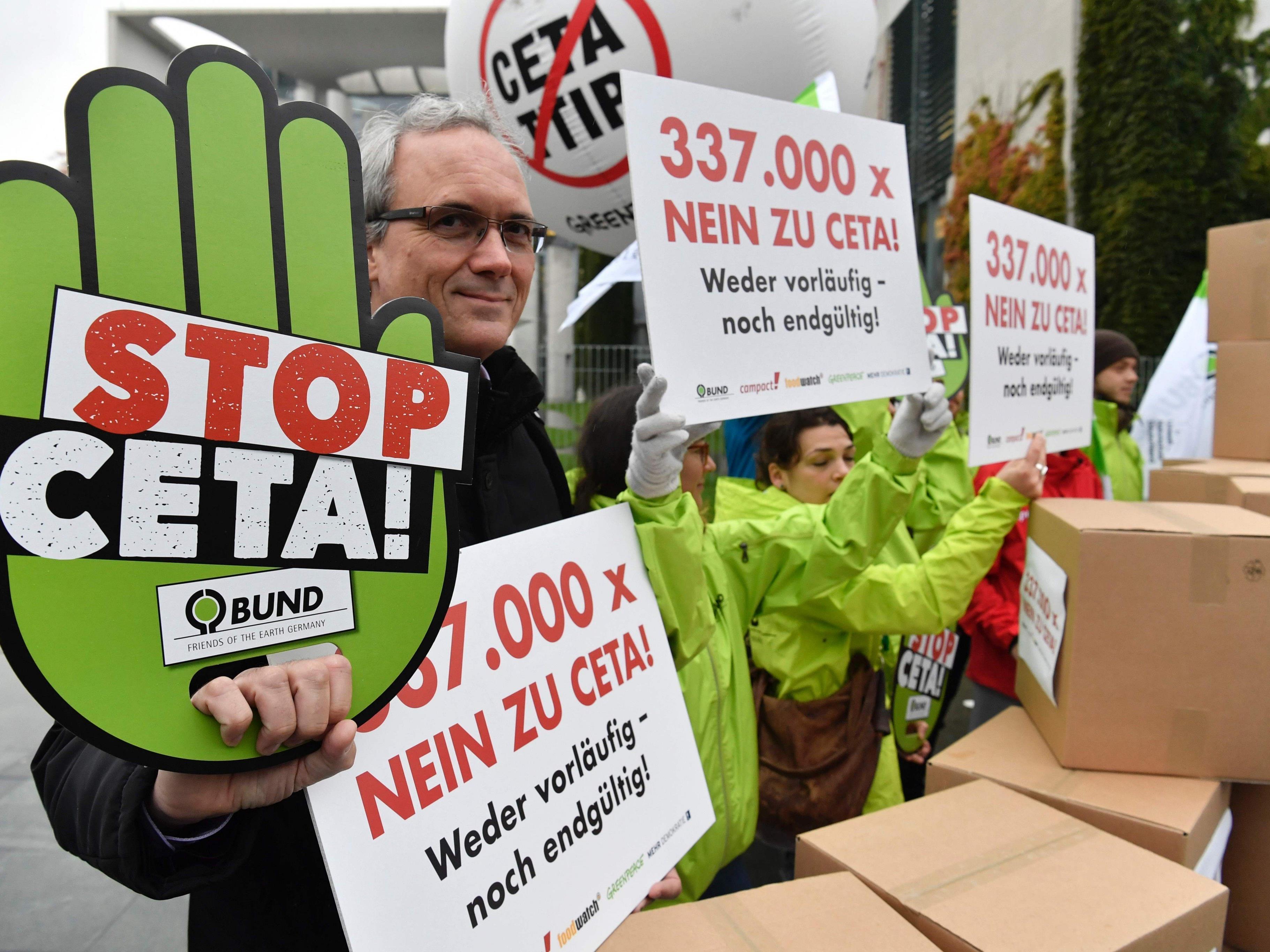 Ceta stößt in immer mehr EU-Ländern auf Widerstand.