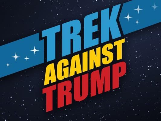 """Die """"Star-Trek""""-Crew geht jetzt gegen Trump vor."""