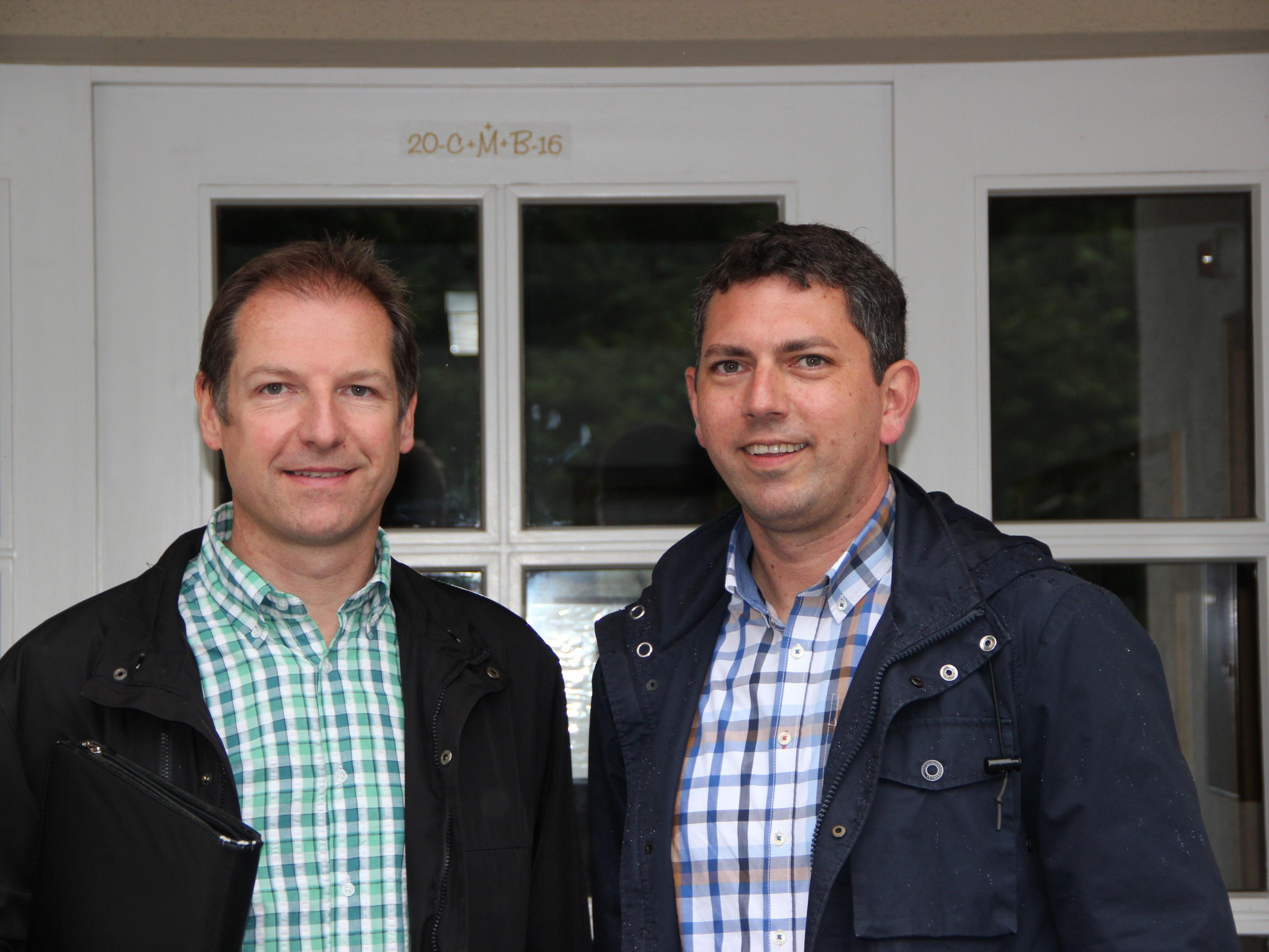 Markus Amann, MAS, und Stadtrat Mag. (FH) Markus Klien