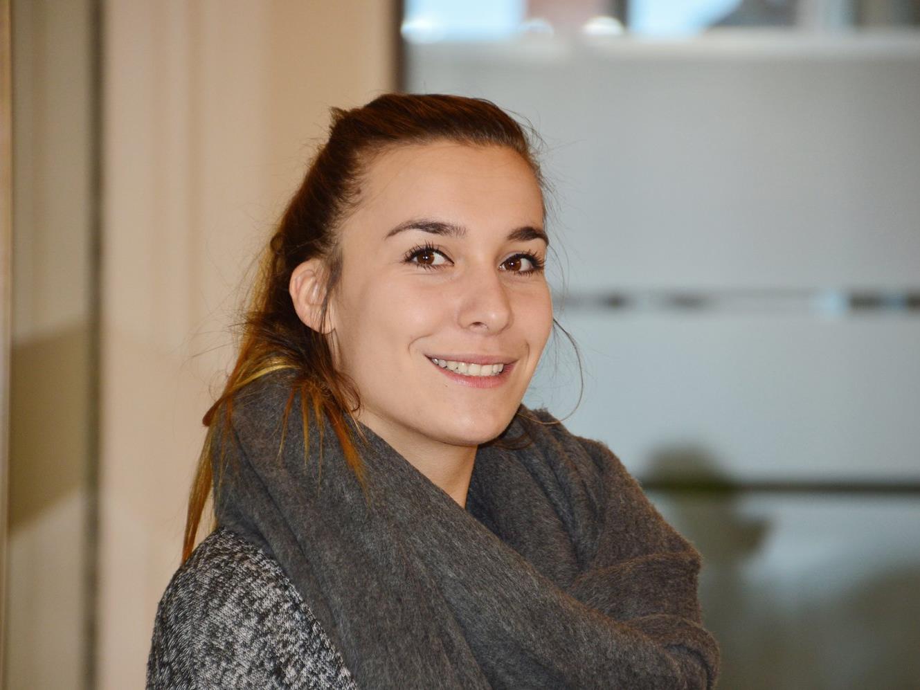 Neue Mitarbeiterin Anja Matt