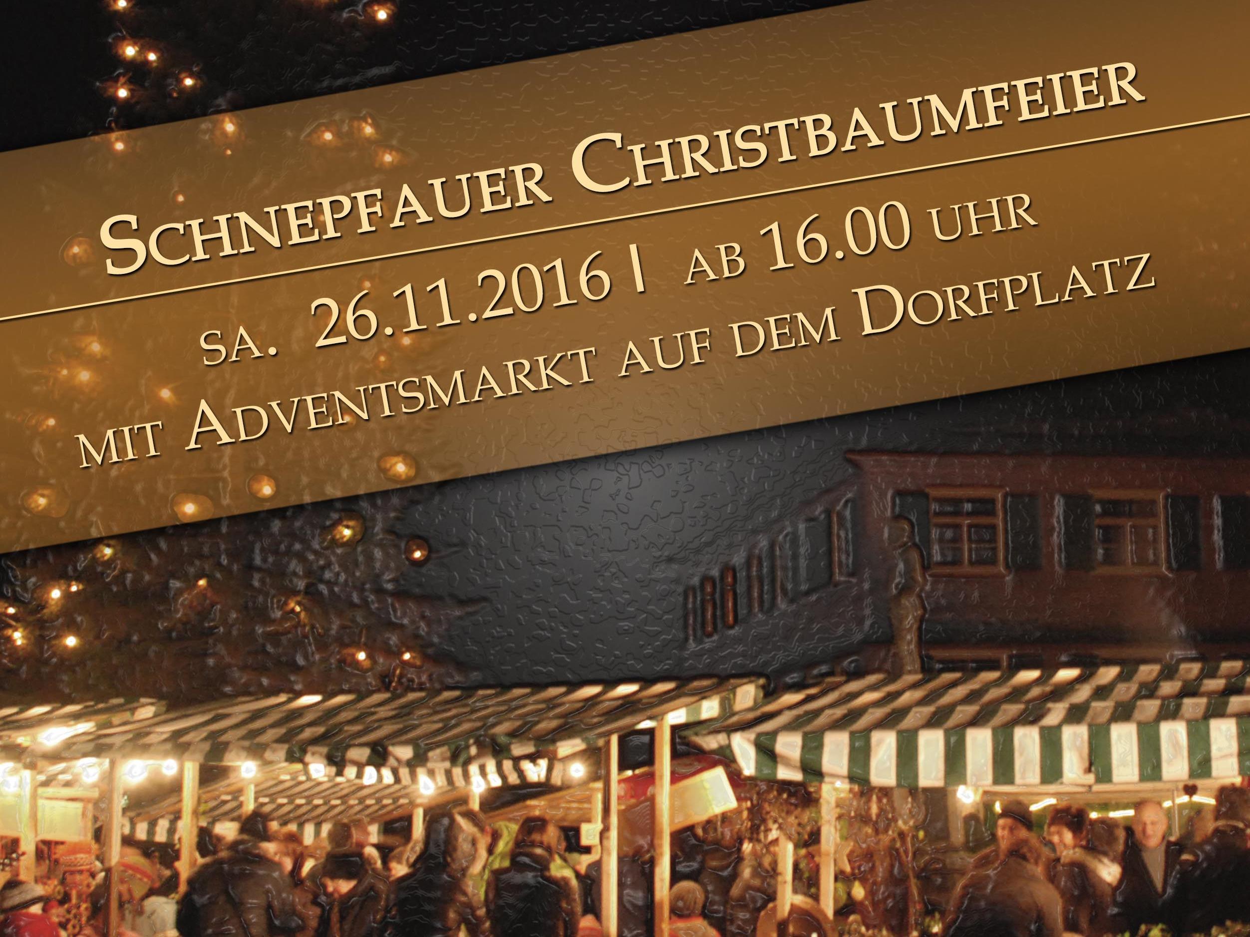 Schnepfauer Christbaumfeier