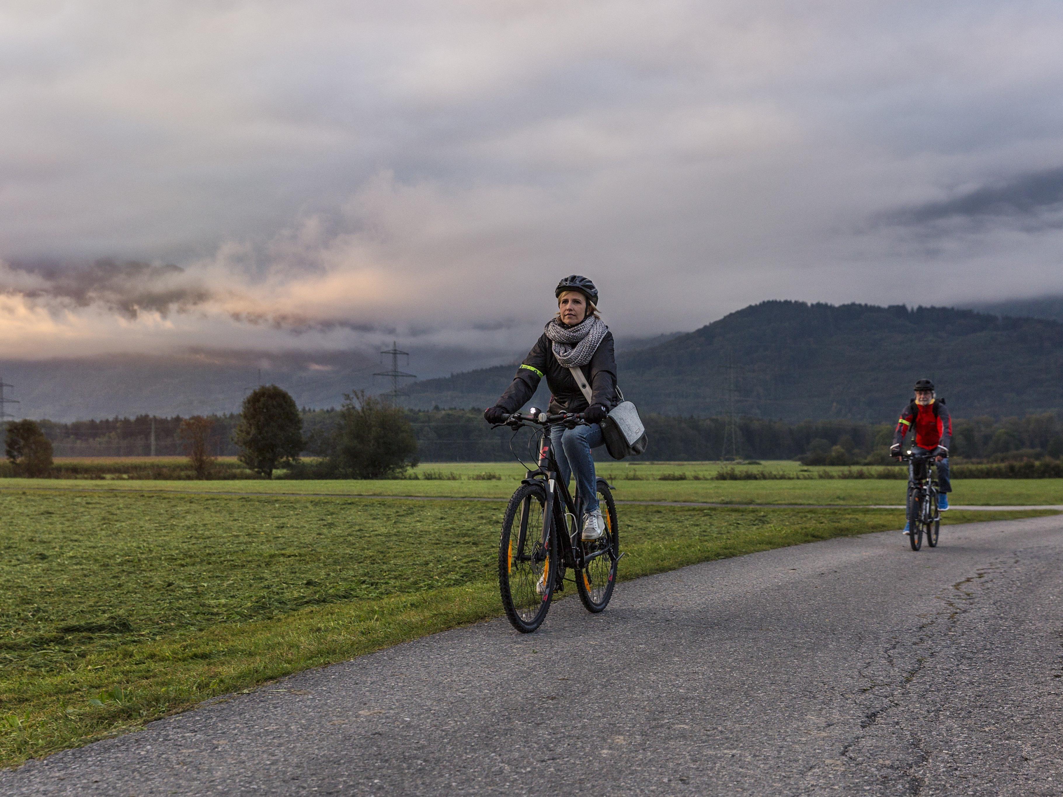 Seit Dienstag dürfen Winterradler ihre abgestrampelten Kilometer zählen.