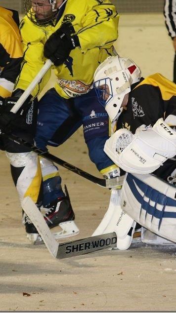 Extrem viele Tore fielen im Eishockey Unterhaus