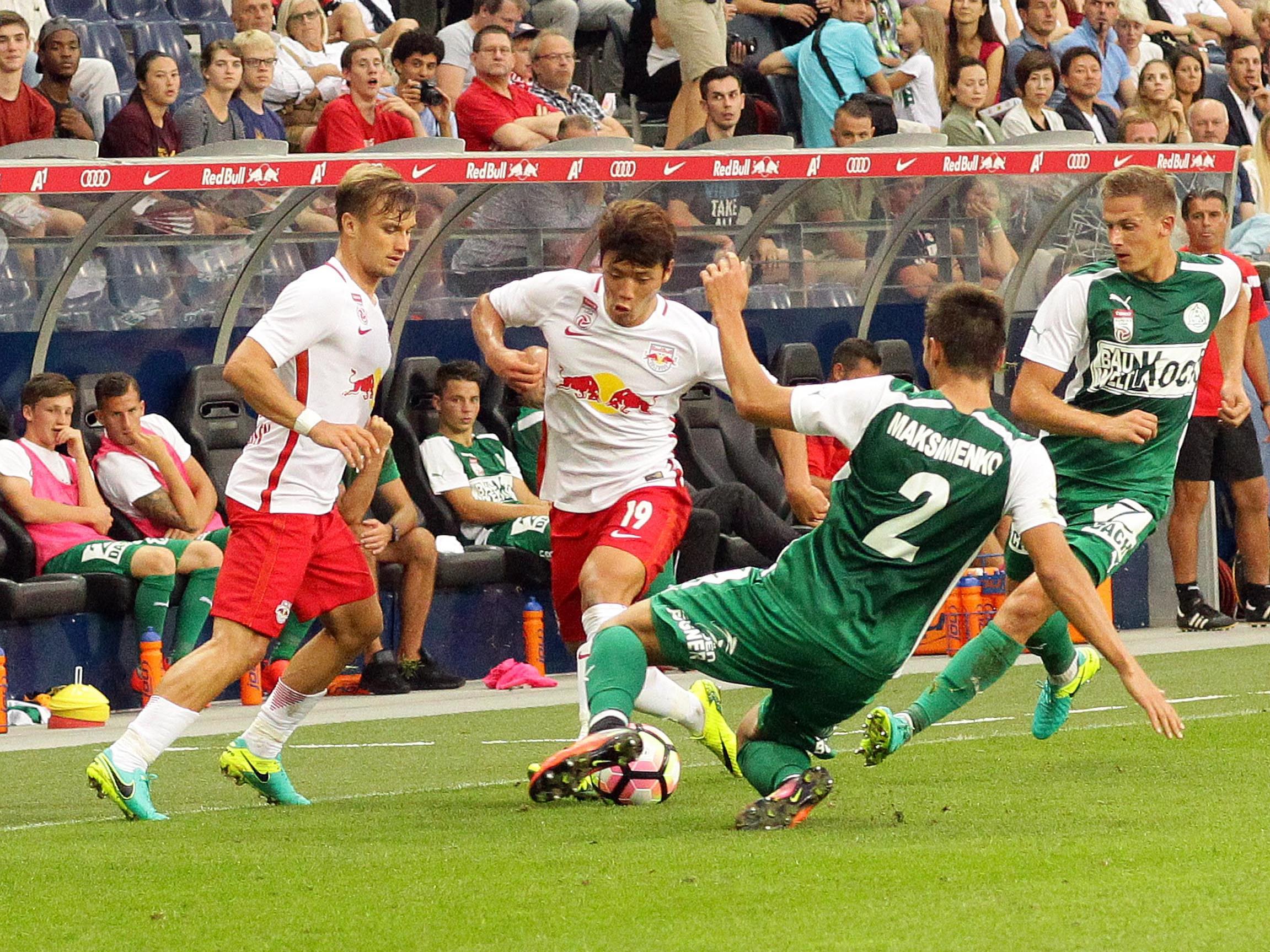 LIVE-Ticker zum Spiel SV Mattersburg gegen Red bull Salzburg ab 16.30 Uhr.