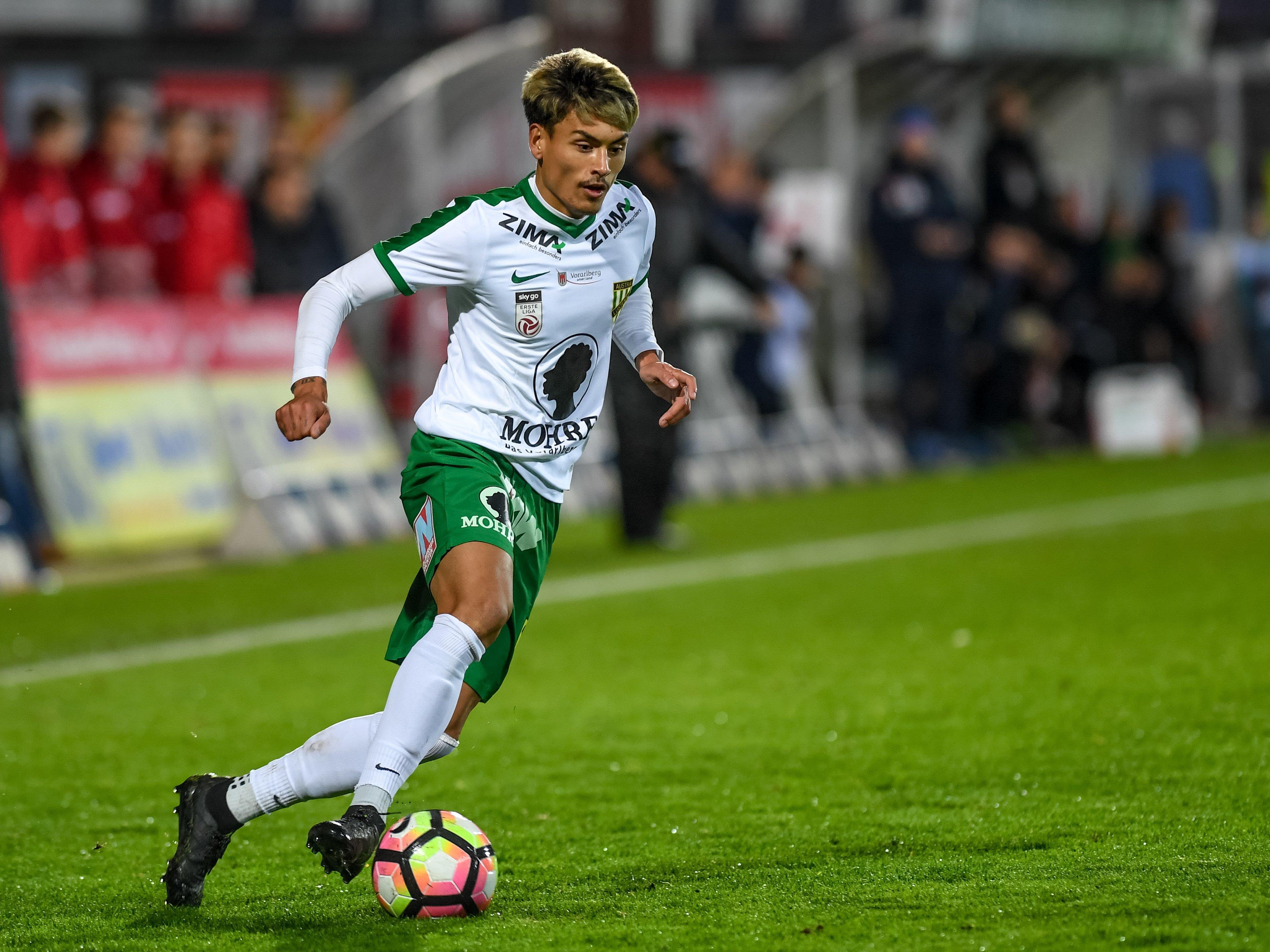 Austria Lustenau trifft auswärts auf Tabellenführer FC Liefering.
