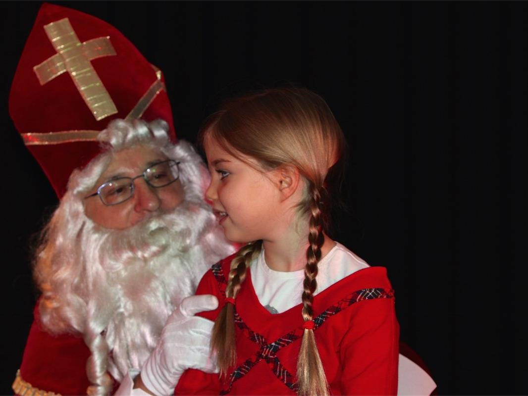 Für die Kleinsten ist ein Nikolausbesuch das Größte.