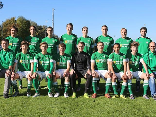 Das 1c-Team des FC Renault Malin Sulz