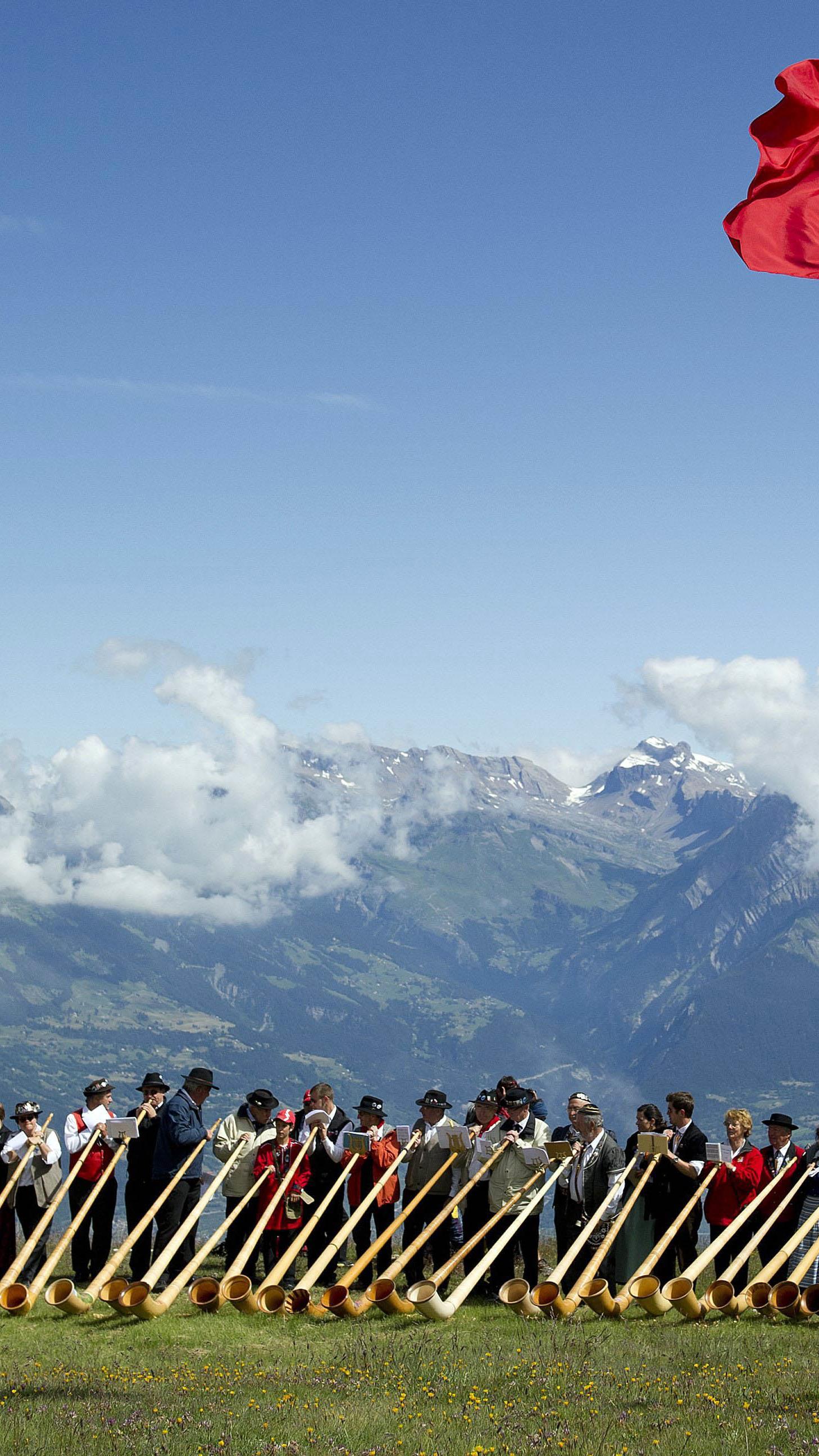Schweizer obenauf.