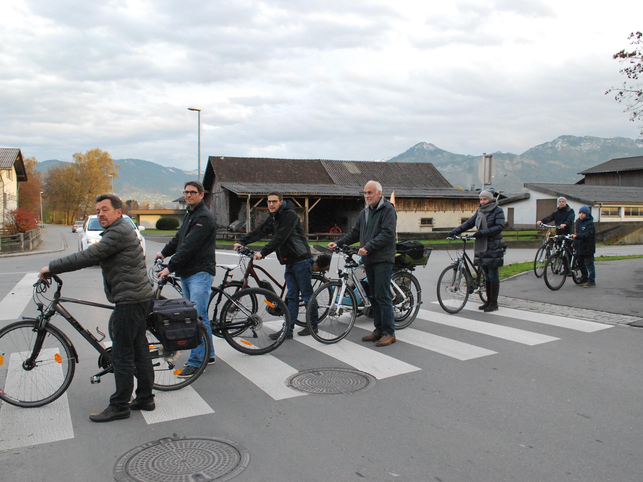 Wer sein Fahrrad liebt ... schiebt normalerweise nicht.