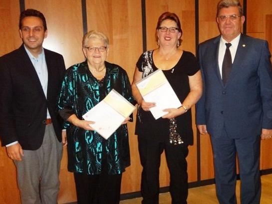 Ehrenamts-Auszeichnung für zwei verdiente PVÖ-Ortschefinnen