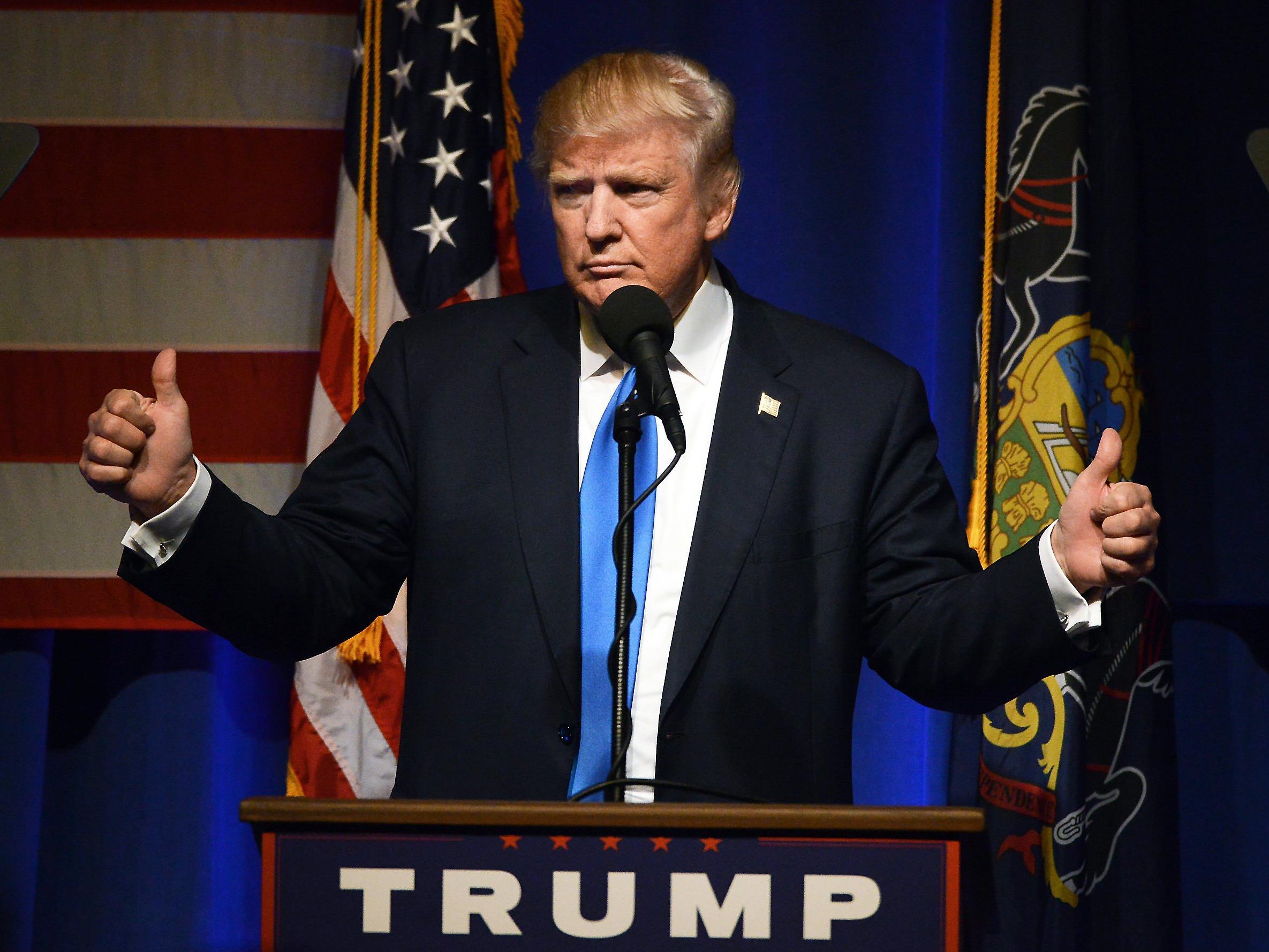 Donald Trump hat es ins Weiße Haus geschafft.