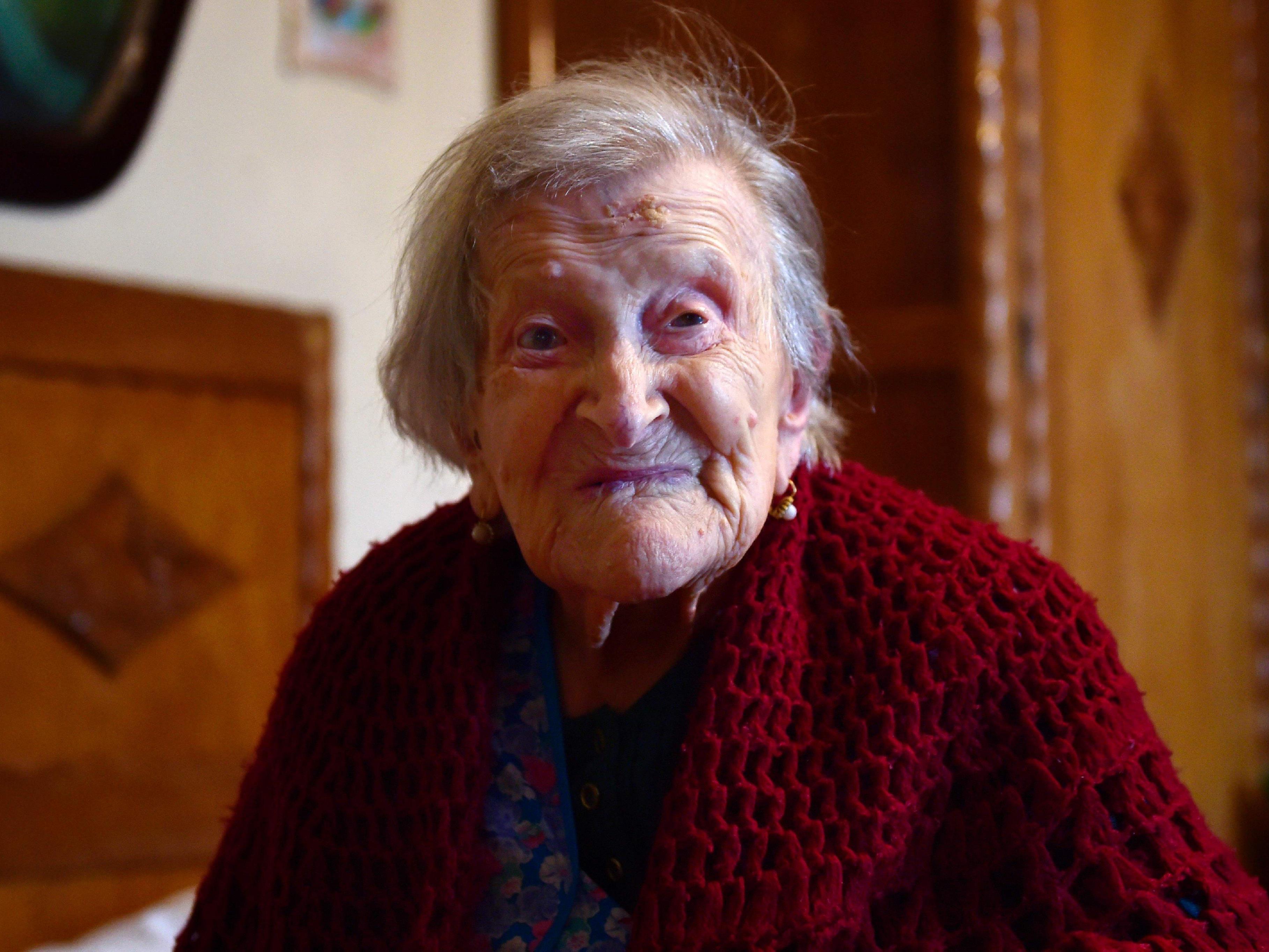 Emma Morano ist die letzte lebende Person, die noch im 19. Jahrhundert zur Welt kam.