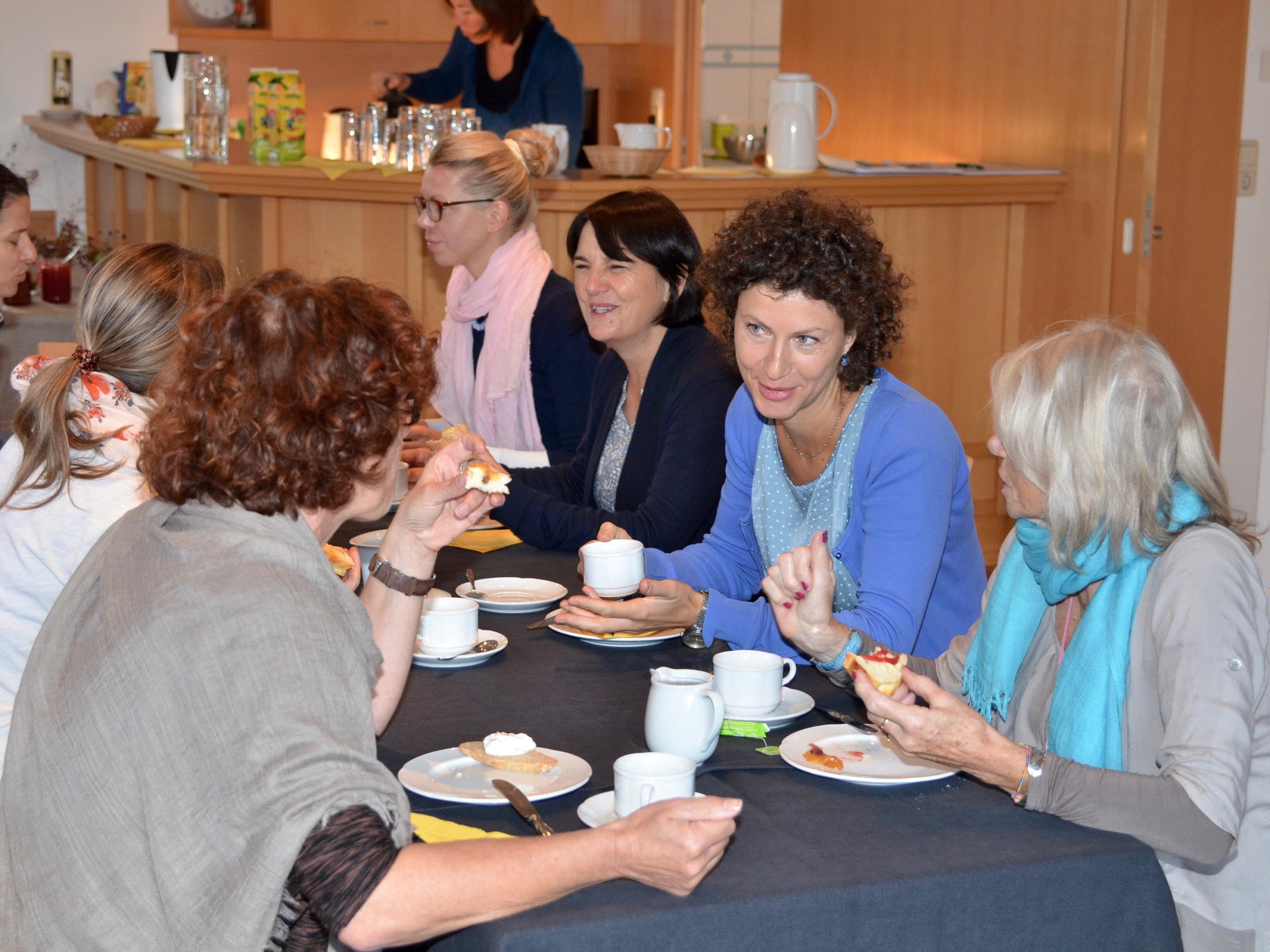 Gemeinsames Frühstück mit Rosa Erlacher