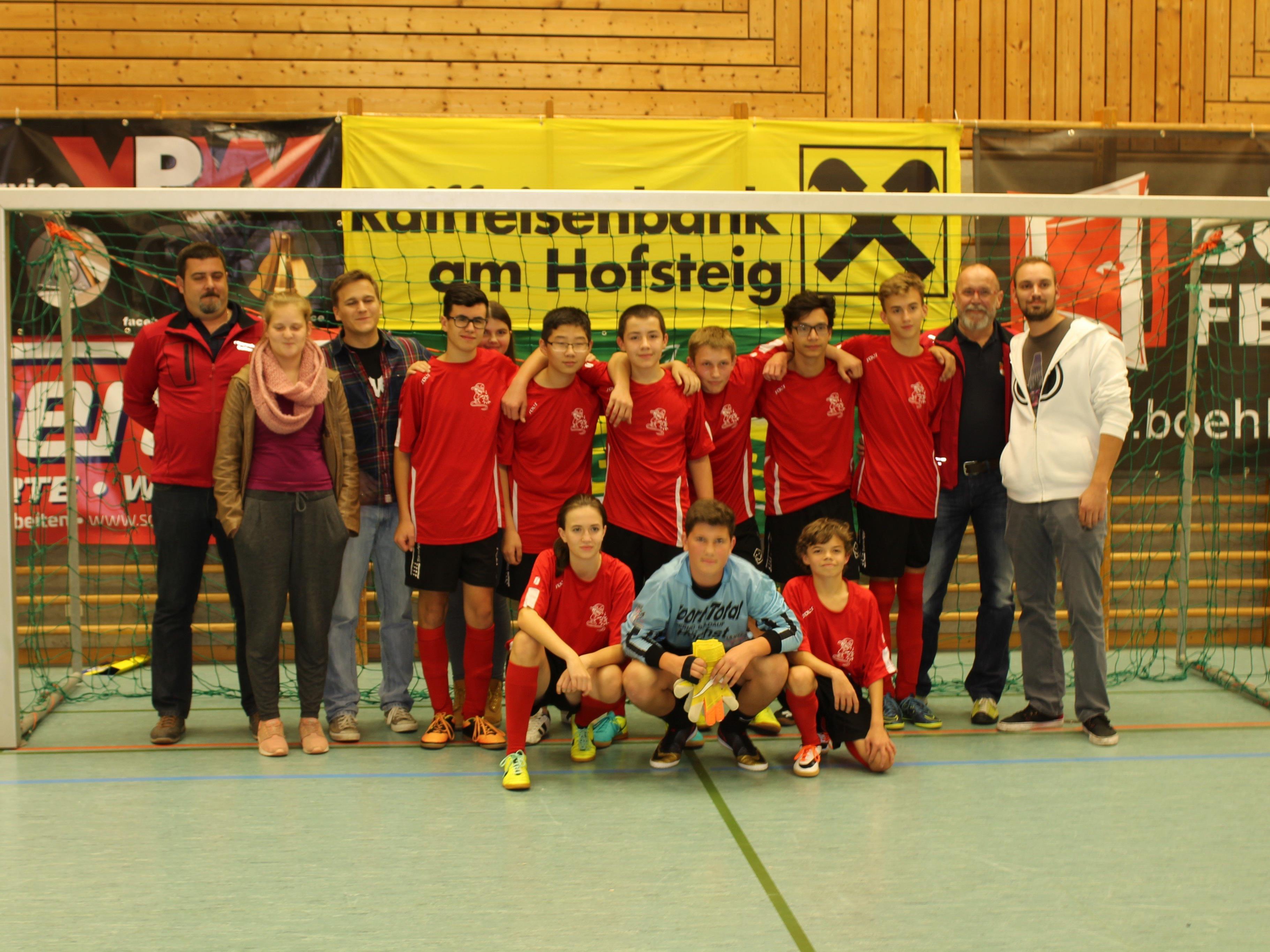 Siegermannschaft Feuerwehrjugend Gaißau