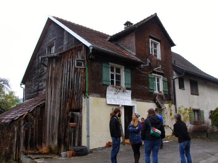 Das Haus, in dem der Flohmarkt stattfand, wird innen gänzlich renoviert werden.