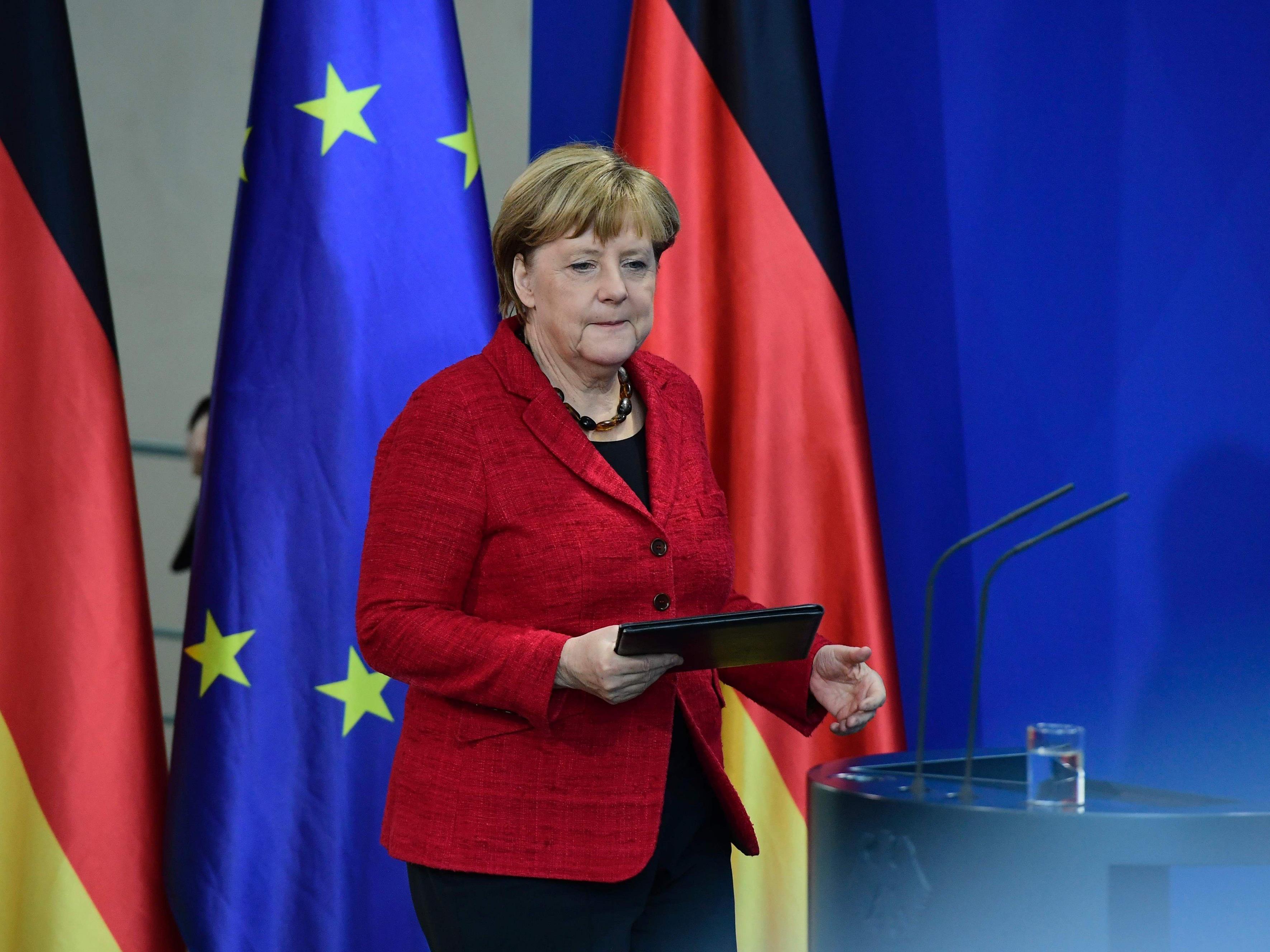 Angela Merkel hat Trump eine enge Zusammenarbeit angeboten.