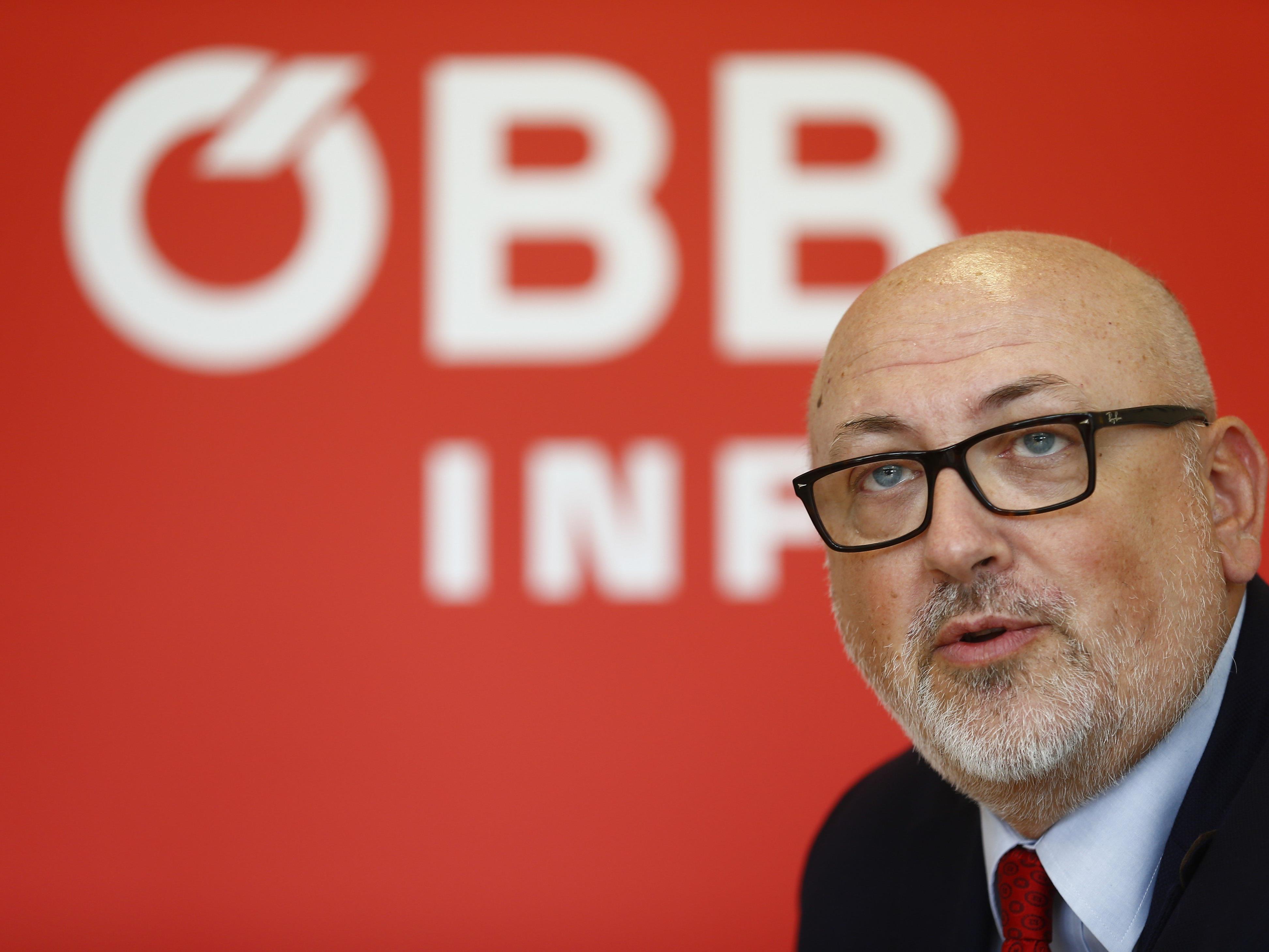 Die ÖBB stellen am heutigen Montag den Fahrplan für 2017 vor.