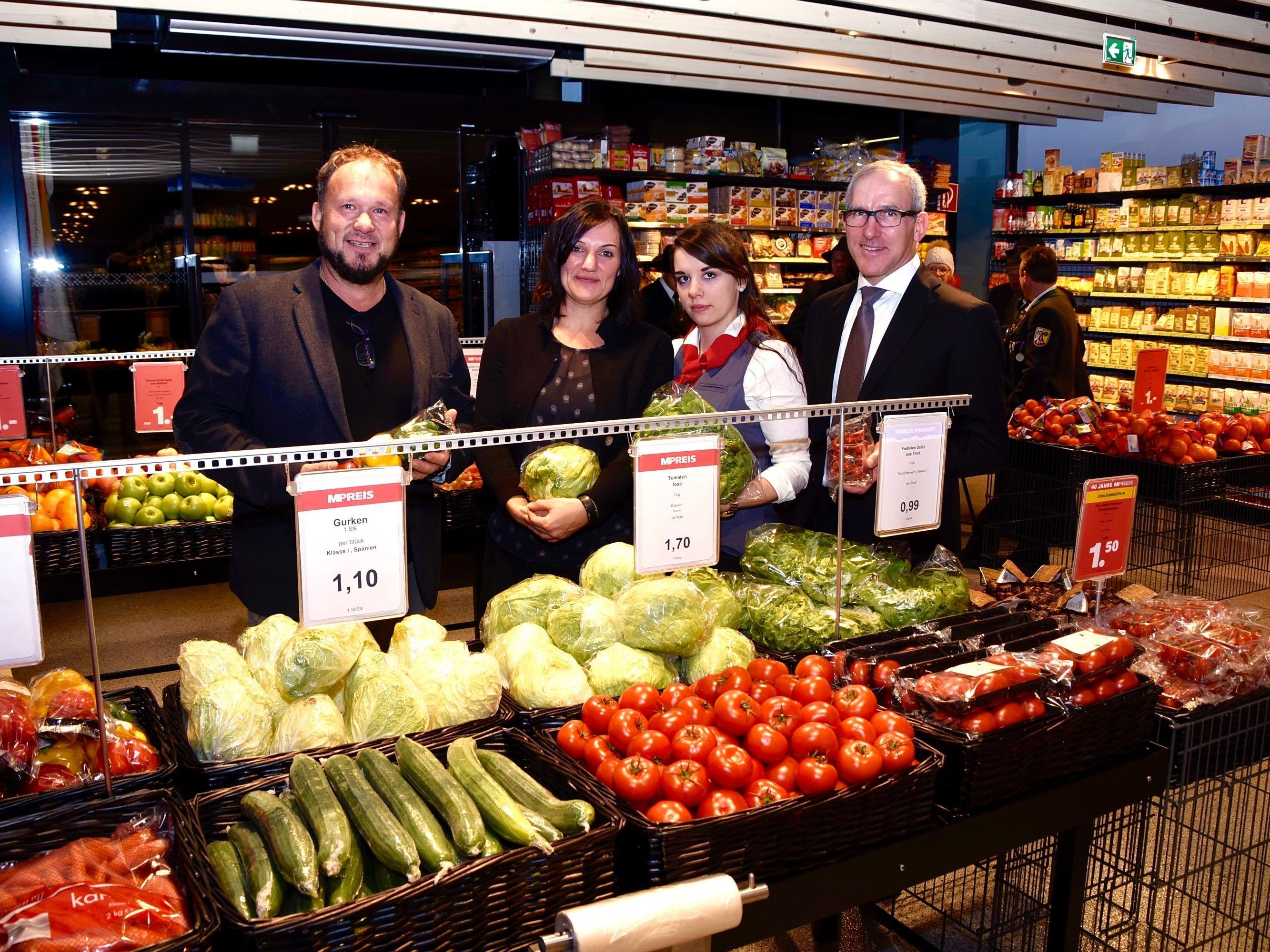 Supermarkteröffnung in Gaschurn