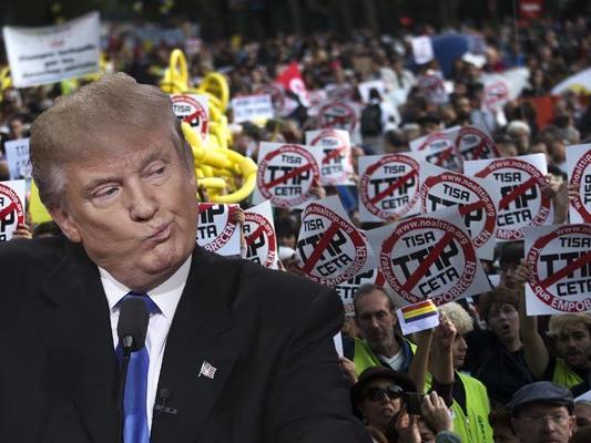 Die Präsidentschaft von Donald Trump könnte TTIP verhindern.