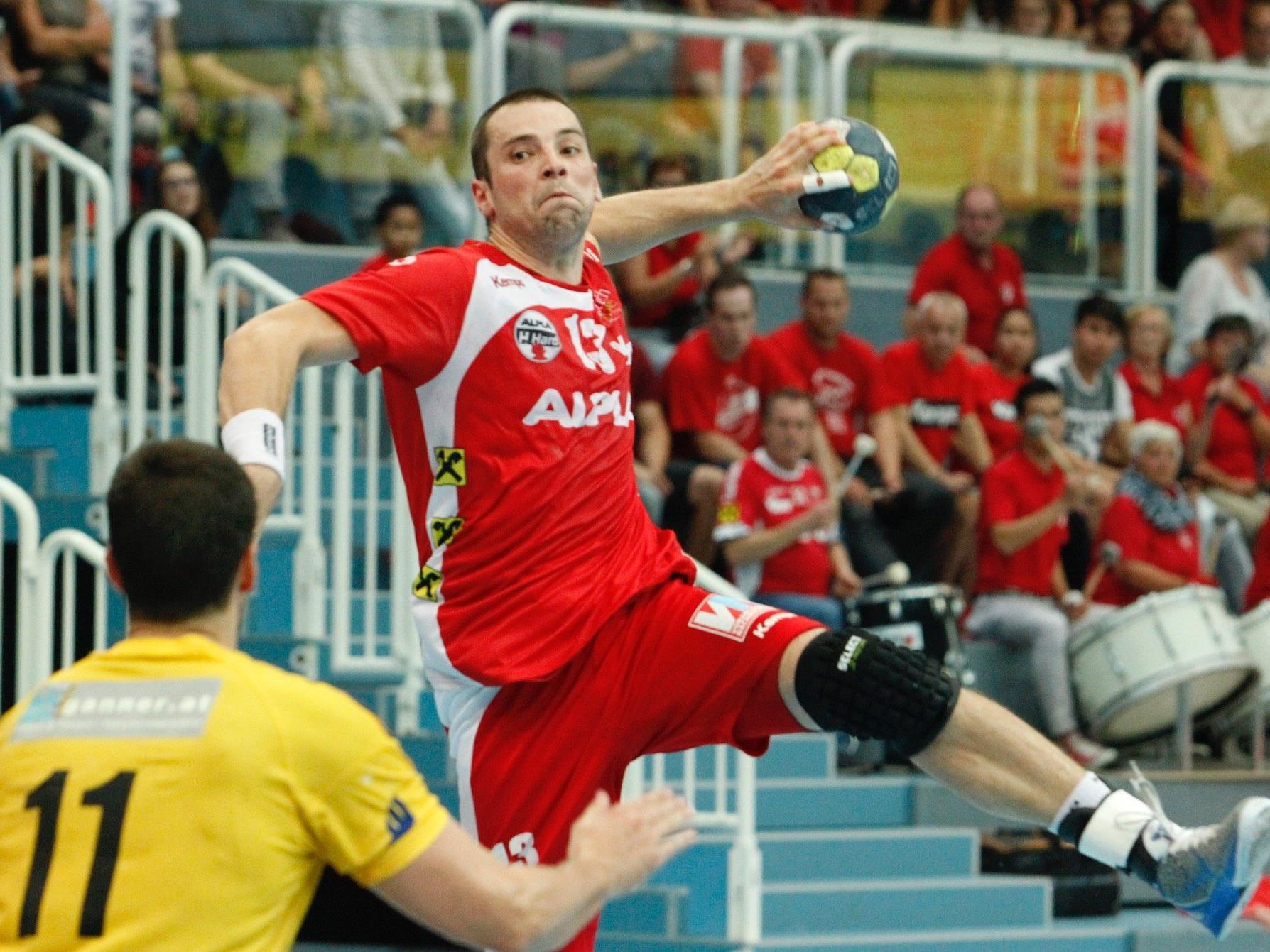 Marko Tanaskovic war im ersten Saison-Derby mit neun Toren der erfolgreichste Werfer.