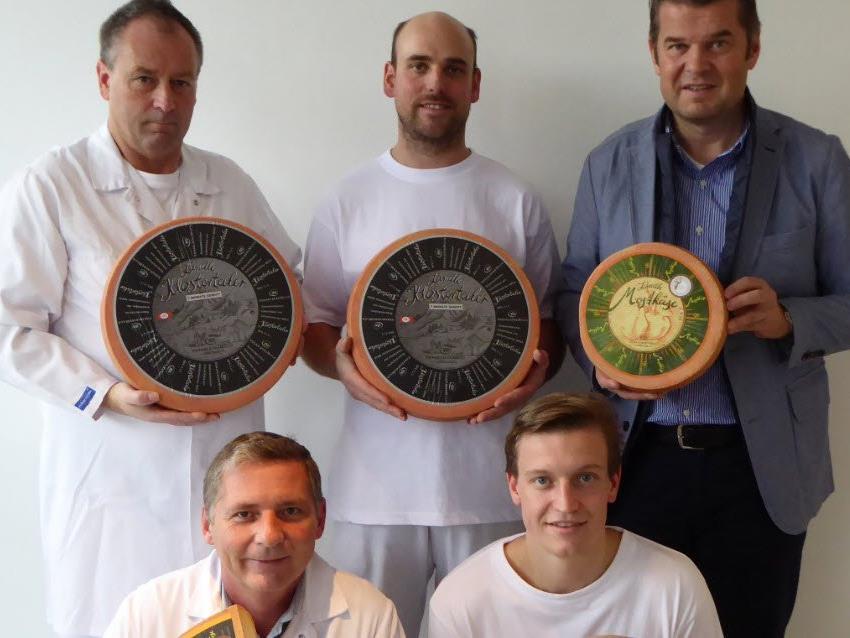 Fünf Medaillen für Vorarlberg Milch