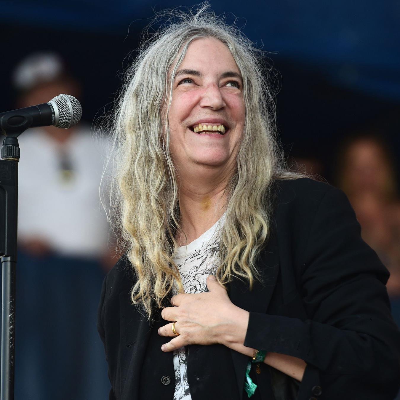 Die US-amerikanische Musikerin Patti Smith beehrte die Viennale