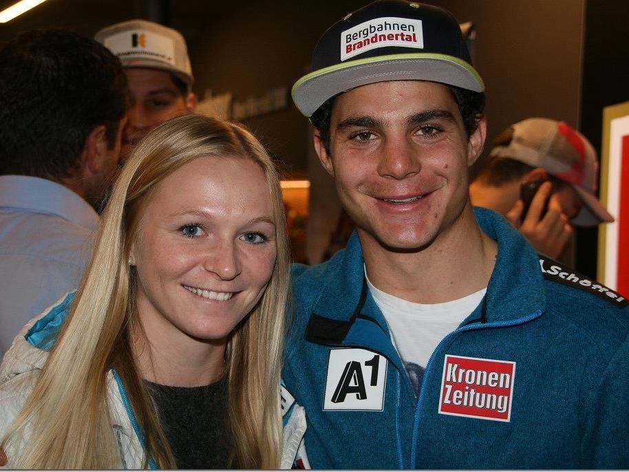 Daniel Meier mit Ariane Rädler hat den siebenten Sieg im FIS Bewerb geholt
