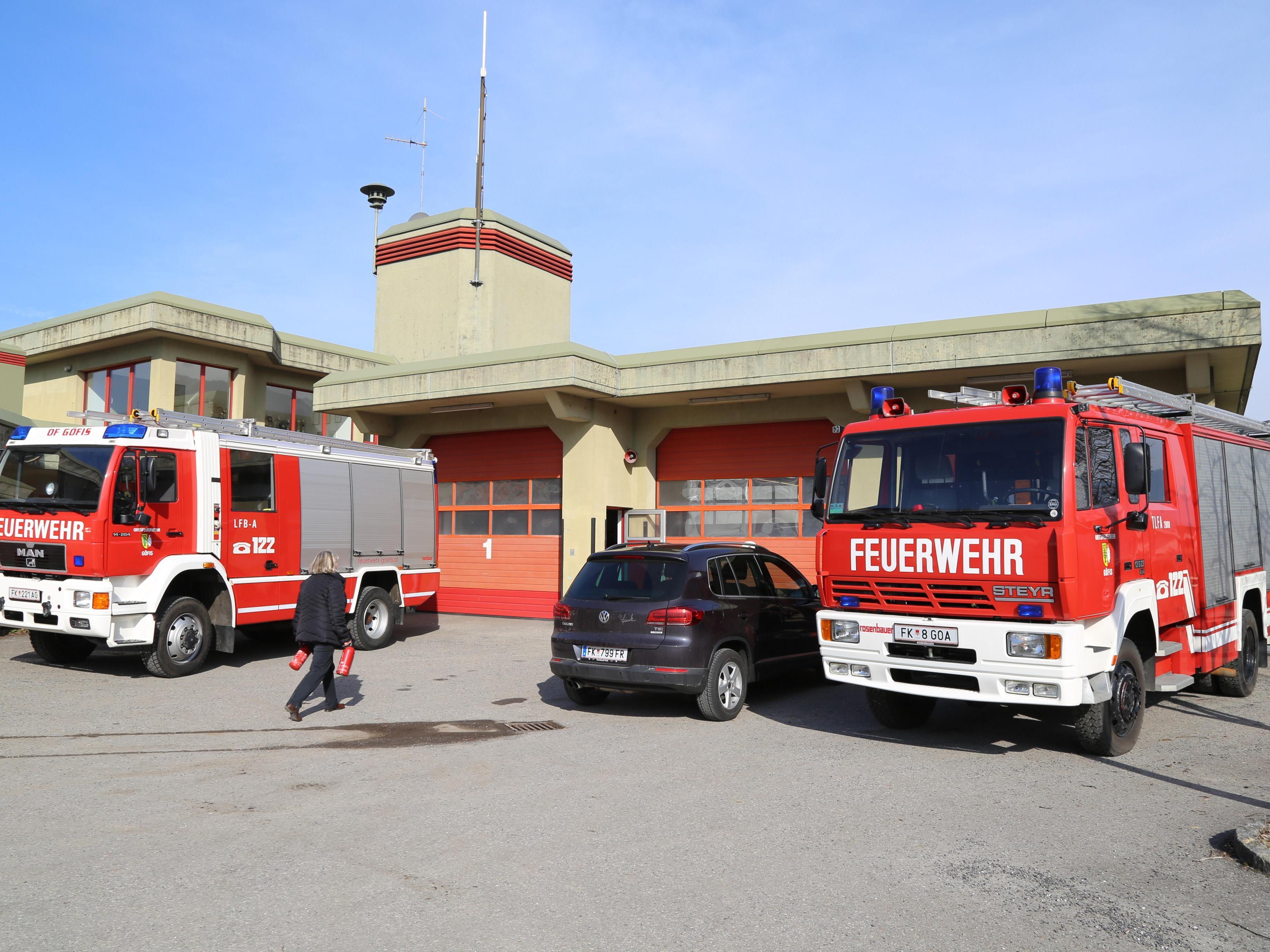 Bis Mitte des nächsten Jahres sollten die Gutachten für das Feuerwehrhaus Göfis bereitstehen.
