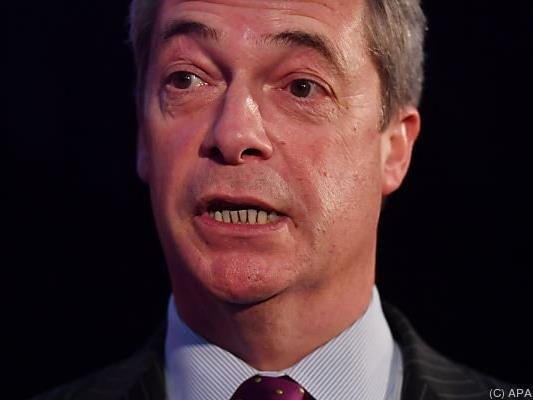 Farage würde sein Gelder auf einen Hofer-Sieg setzen