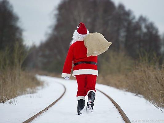 Weiße Weihnachten sind in tiefen Lagen selten geworden