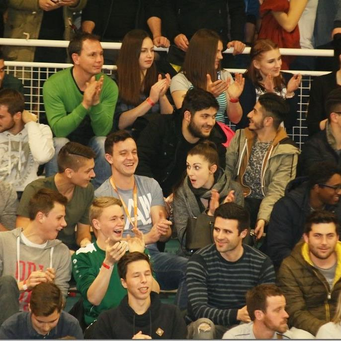 Alberschwende Fans sorgten für Stimmung in der Halle
