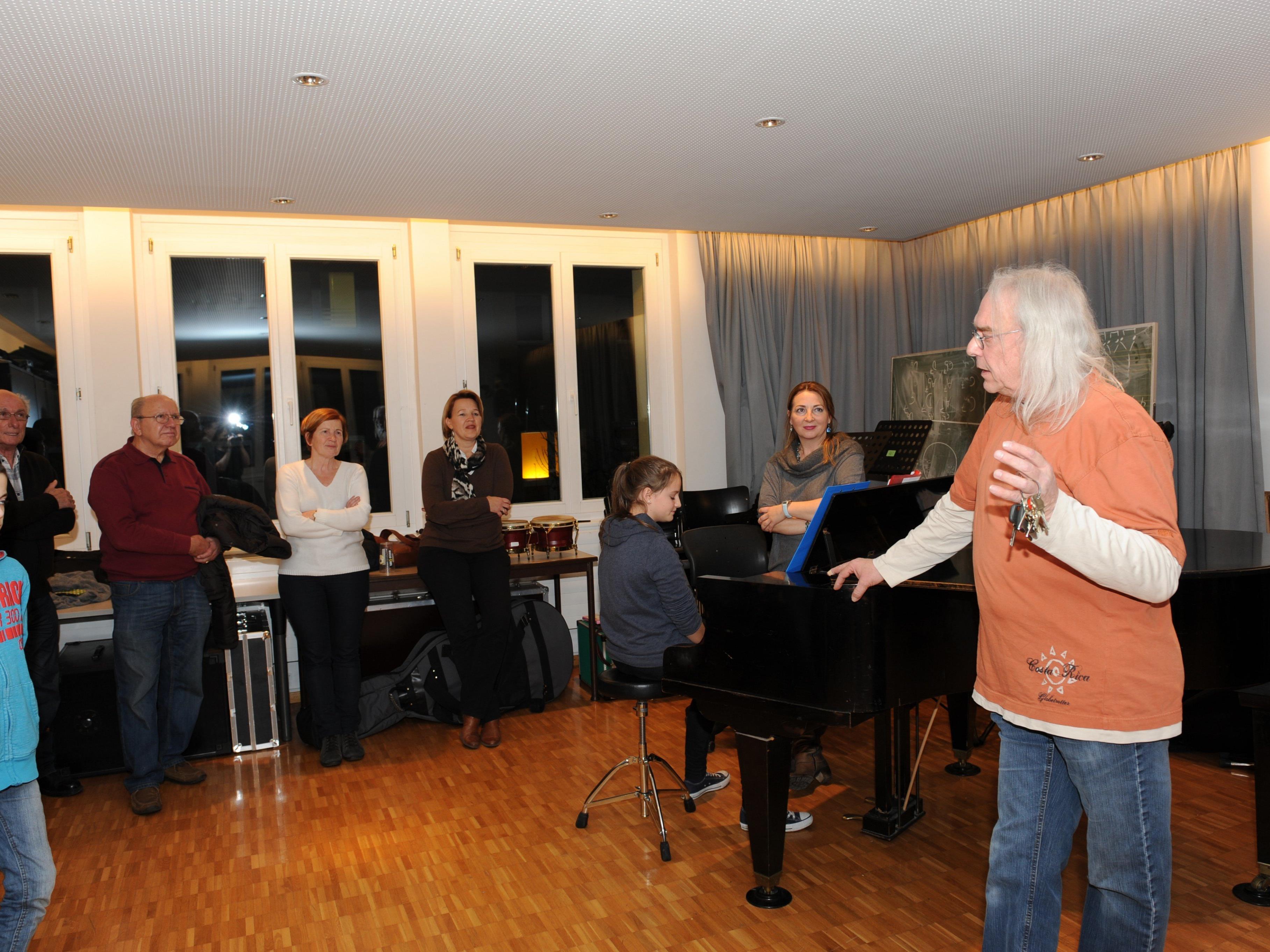 Rolf Aberer (re. i. Bild) & Co. laden am Donnerstag und Freitag zum großen Jubiläum des Jazzseminars in Dornbirn.