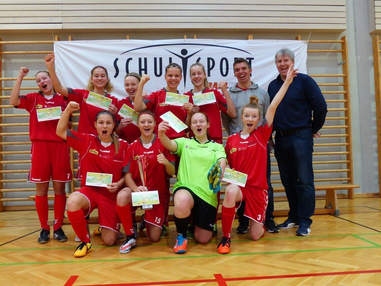 Favoritensieg im Futsal: Sportgymnasium Dornbirn