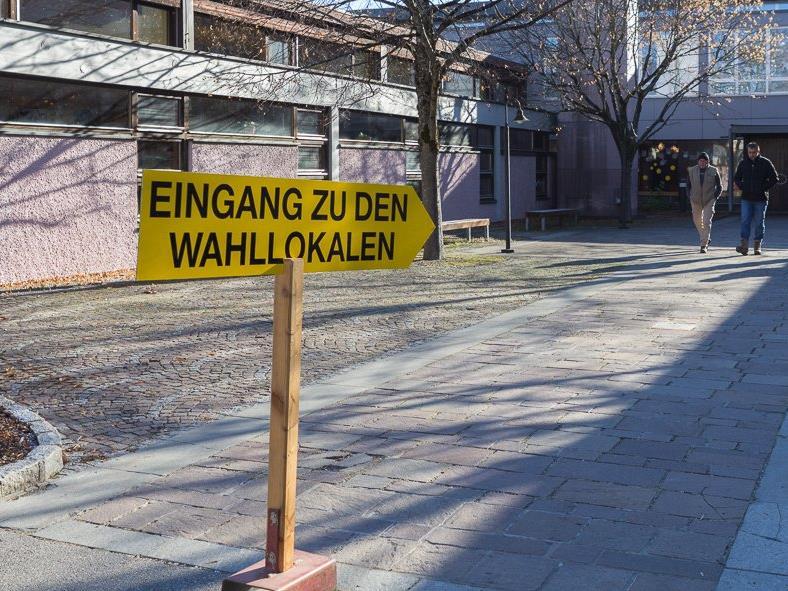 1.153 der 1.999 Wahlberechtigten von Vandans schritten am Wahltag zur Stimmabgabe