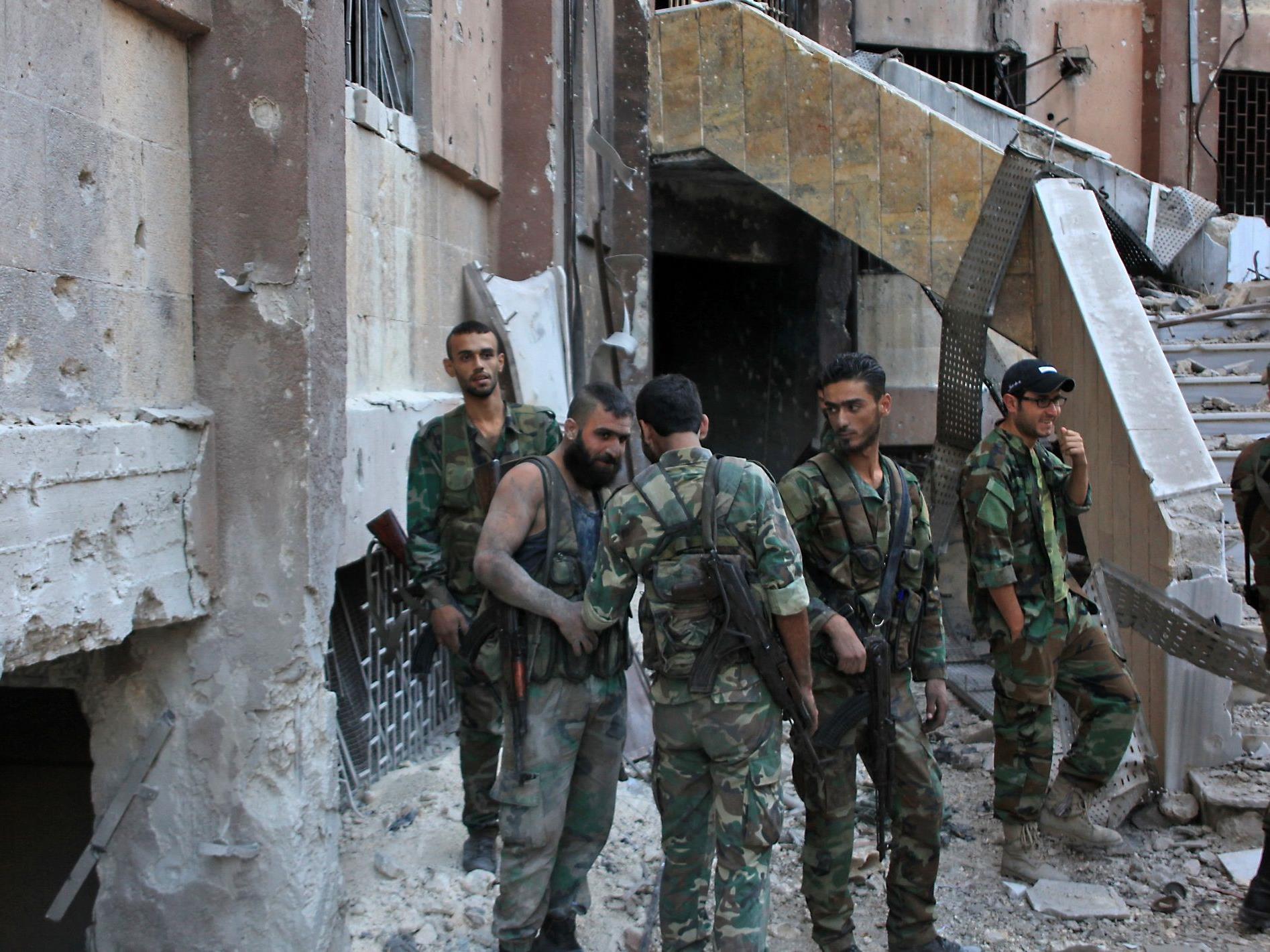 """UNO warnt vor """"gigantischem Friedhof"""" in syrischer Großstadt."""