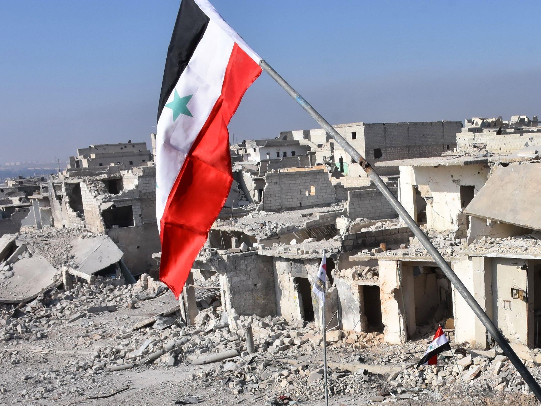 Laut Angabe von syrischen Quellen steht die Schlacht um Aleppo offensichtlich kurz vor dem Ende.