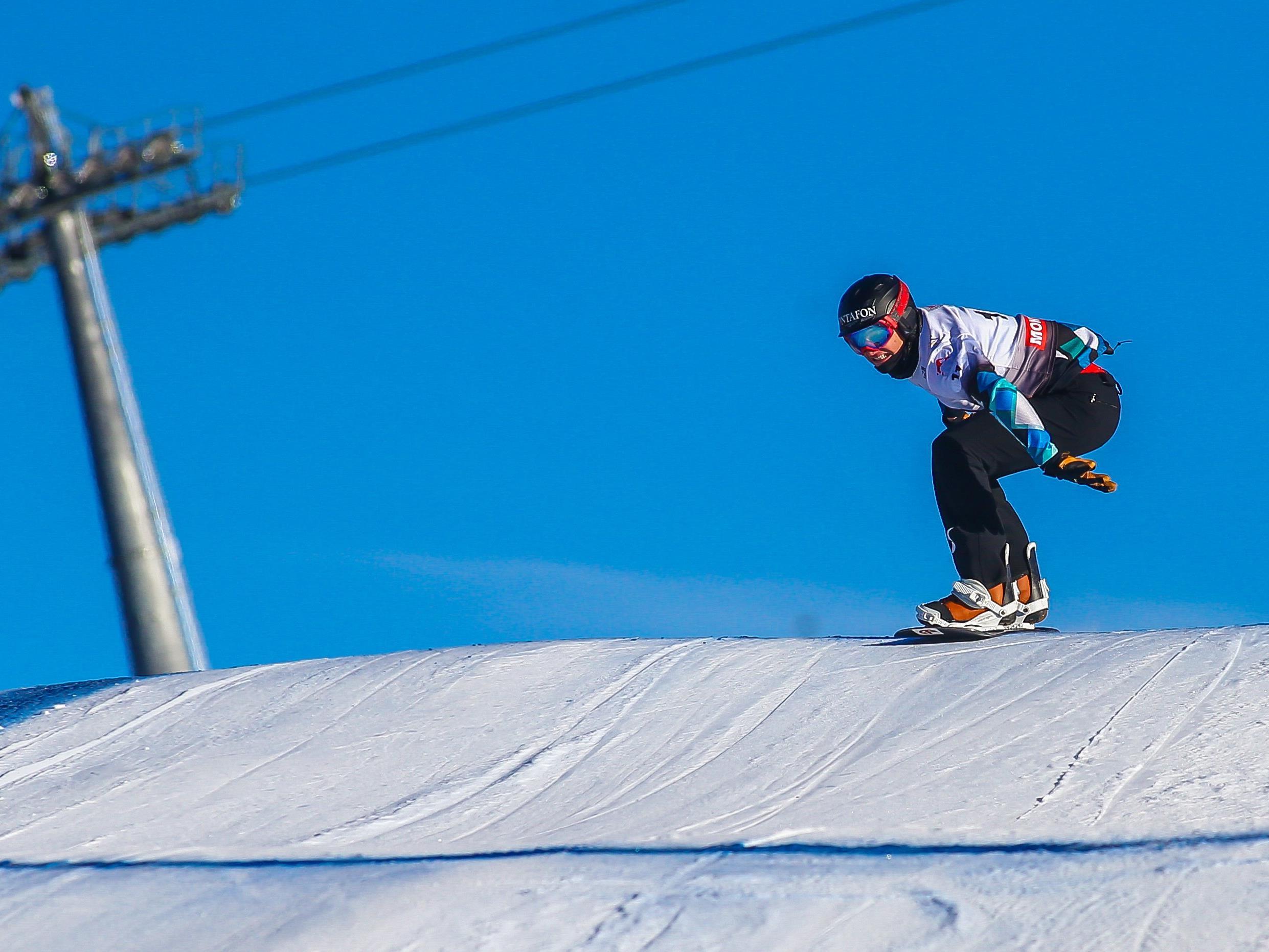 Der Vorarlberger Alessandro Hämmerle musste sich mit Platz 26 im Snowboardcross zufrieden geben.