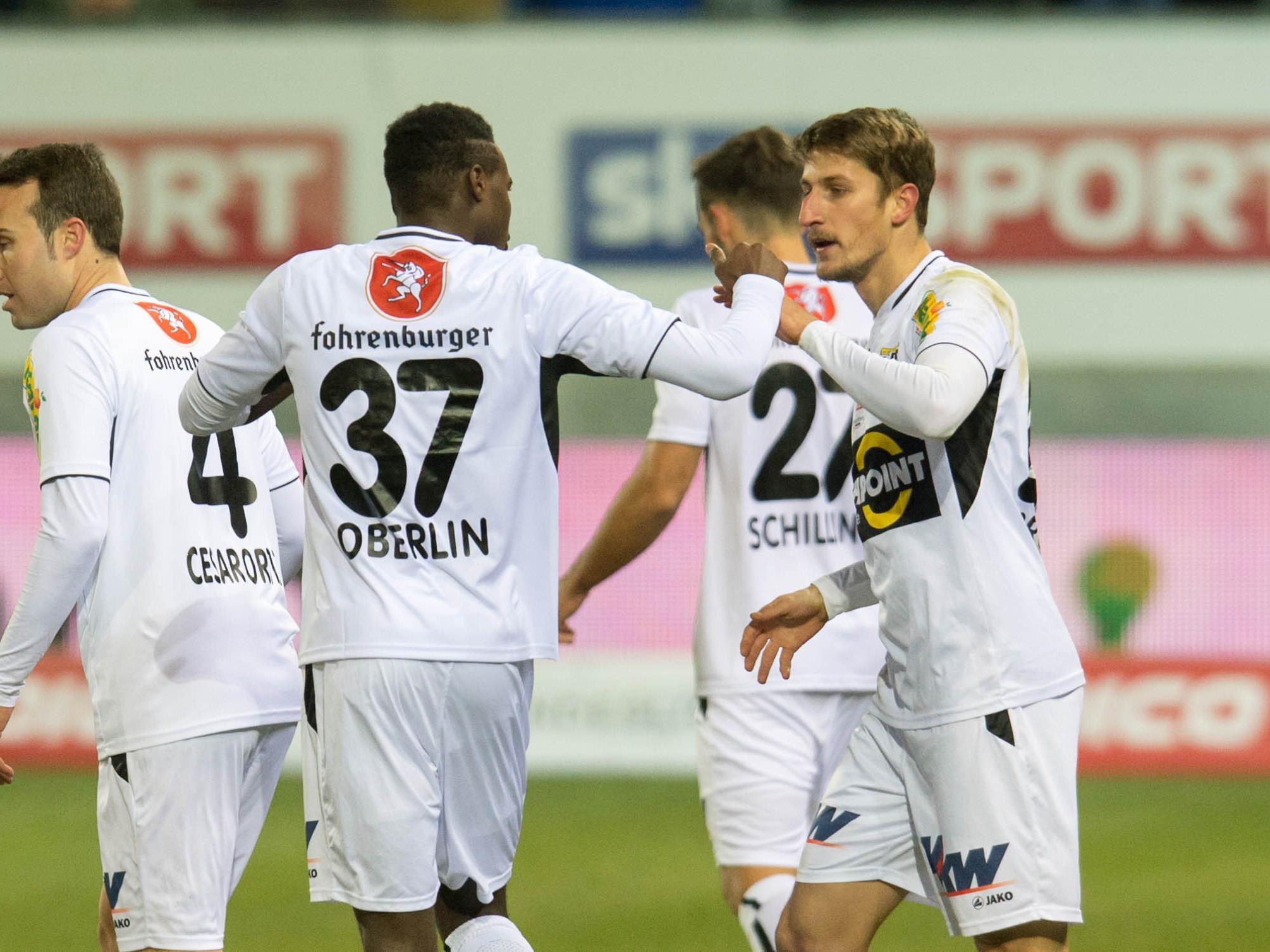Der SCR Altach will als Tabellenführer der Bundesliga überwintern.