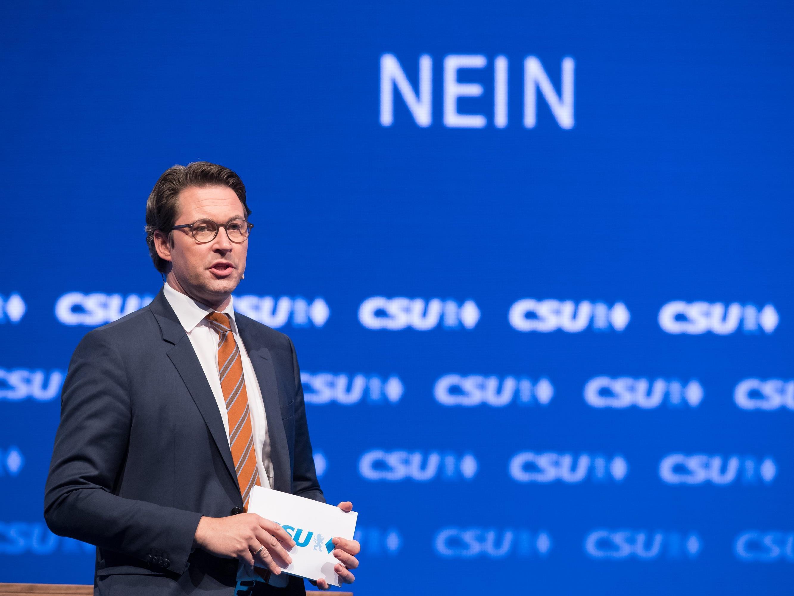 CSU-Generalsekräter Andreas Scheuer wirft dem Berliner Senat nach dem Anschlag auf einen Weihnachtsmarkt Fahrlässigkeit vor.